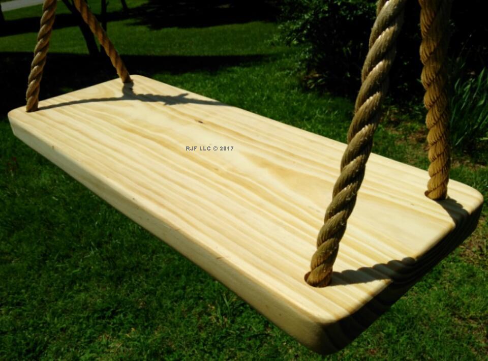 4 Hole Appalachian Wood Tree Swing