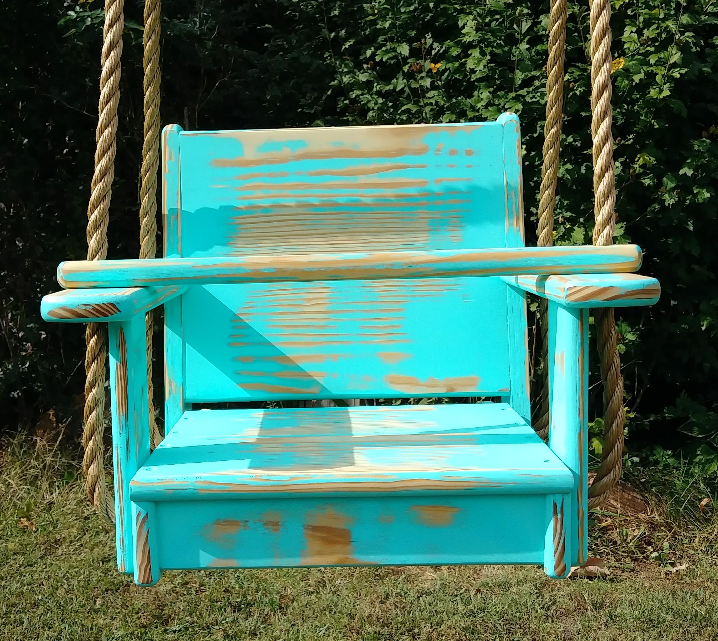Sea Foam Kids Seat Swing