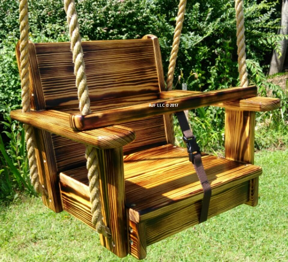 Charred Design Kids Seat Swing