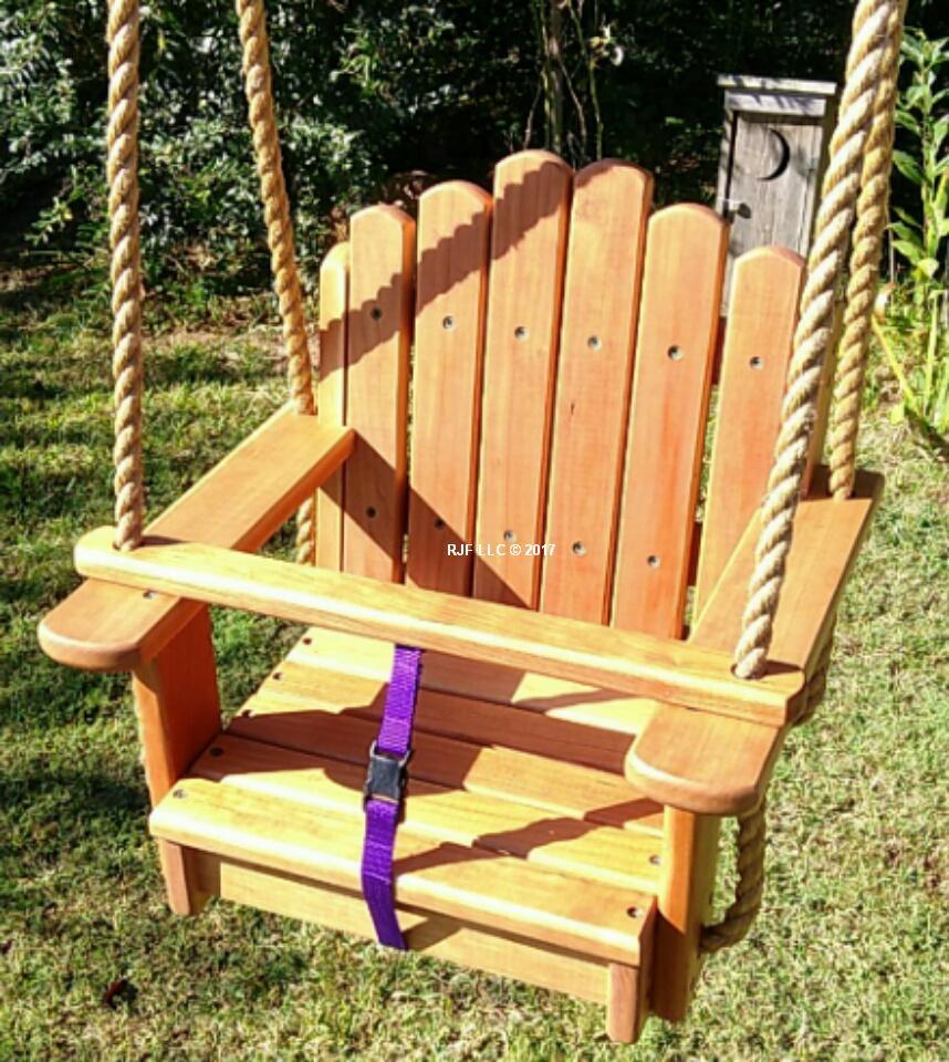 Sun Burst Cherry Kids Seat Swing