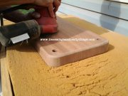 Hand Sanding for a Premium Finish