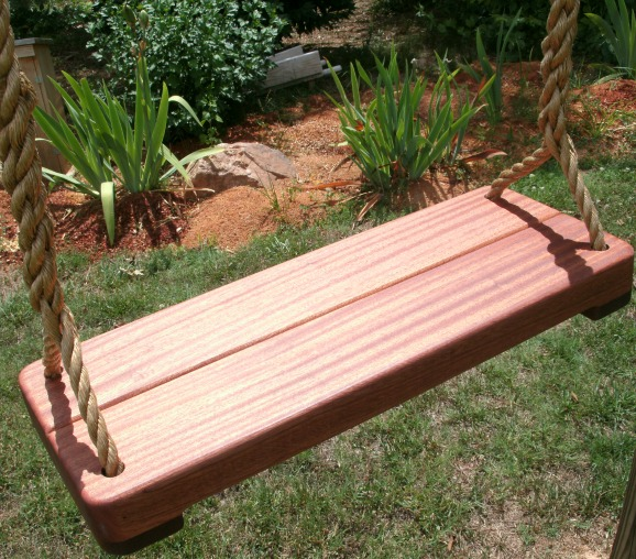 Sapele Thick Tree Swing