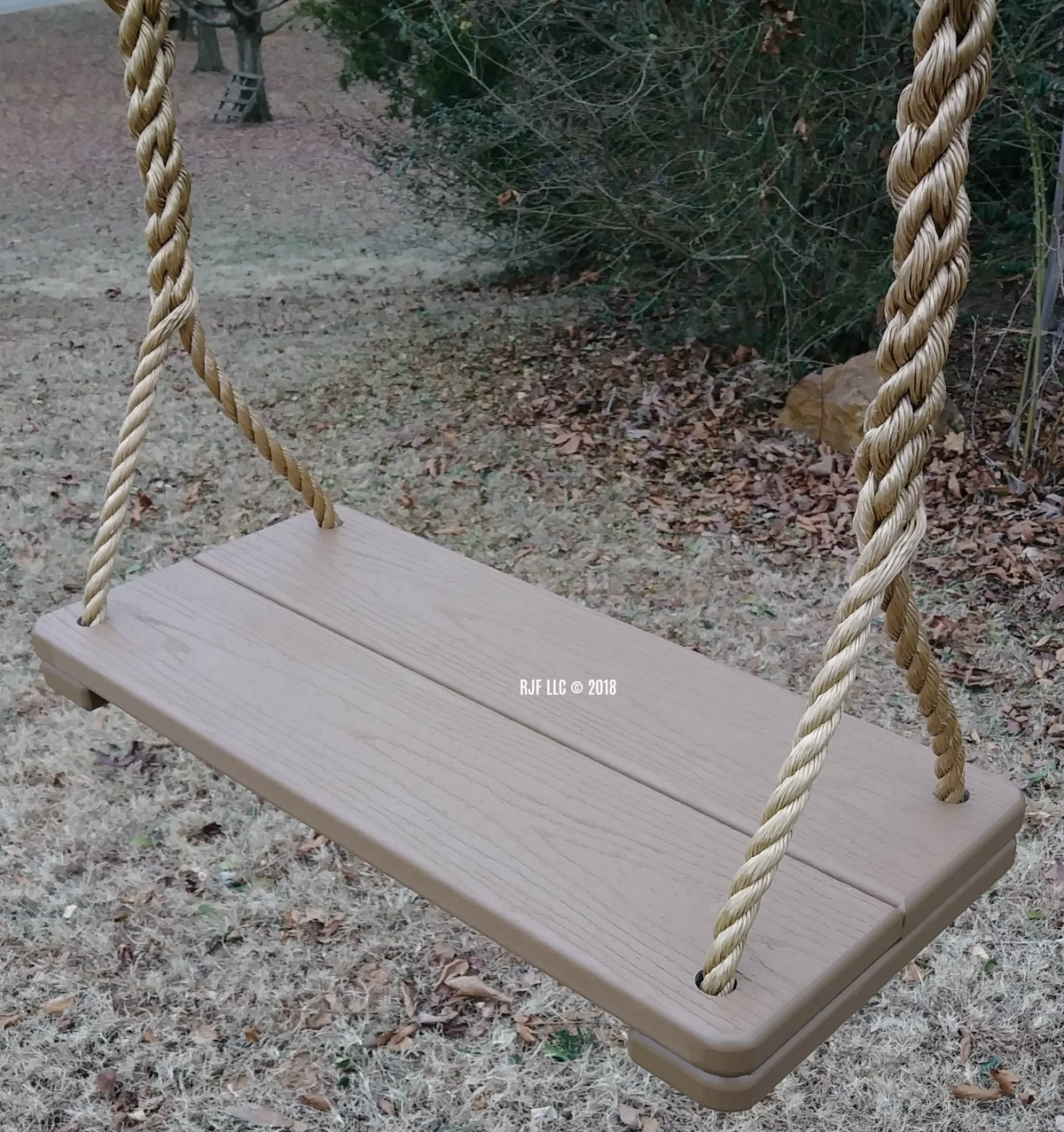 Composite Brown Tree Swing