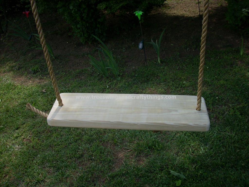 Appalachian 2 Hole Wood Tree Swing