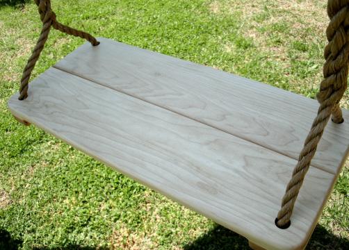 Appalachian Wide Wood Tree Swing