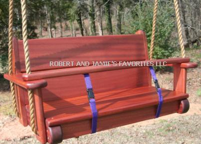 Sapele Twinster Kids Seat Swing