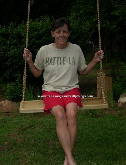 Poplar XL Wood Tree Swing