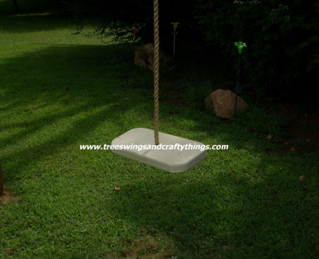 Appalachian 1 Hole Wood Tree Swing