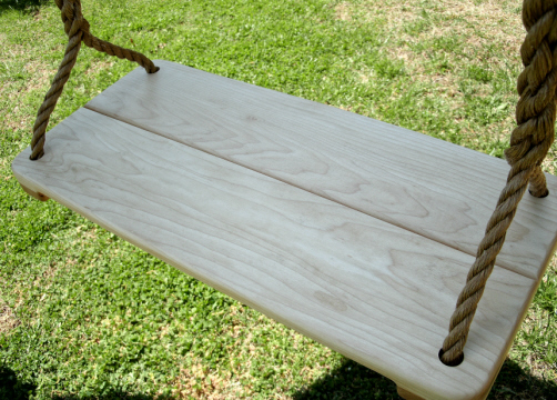 Appalachian Wide Wood Tree Swing