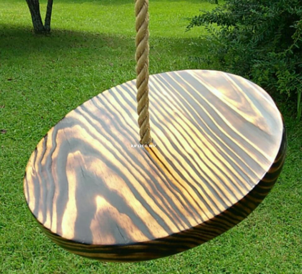 Charred Appalachian Disc Swing