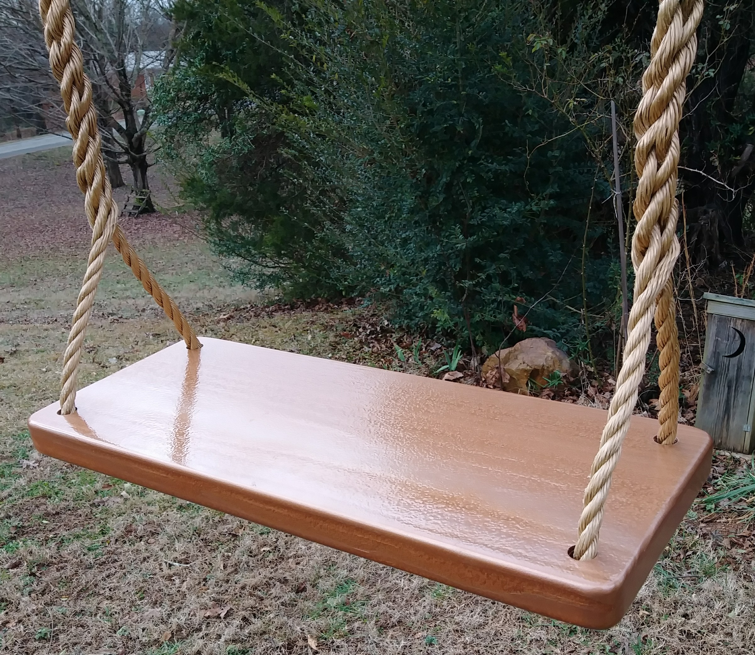 Hammered Copper 4 Hole Appalachian Tree Swing