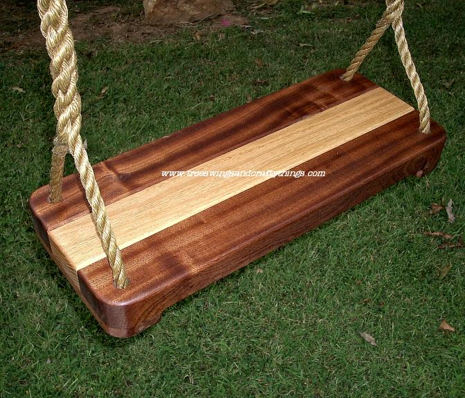 Oakipele Wood Tree Swing