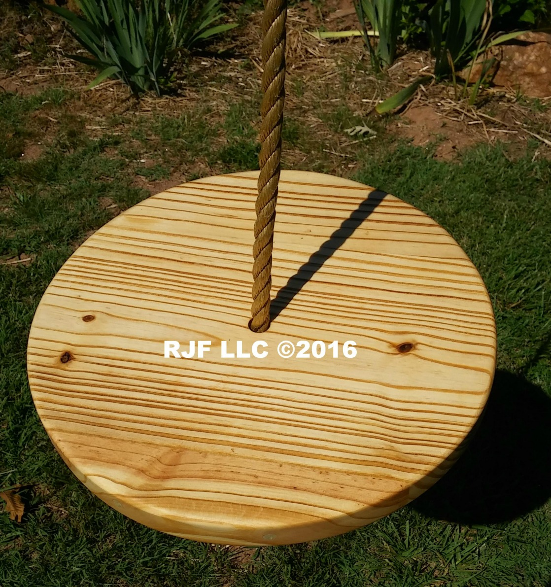 Pine Disc Tree Swing
