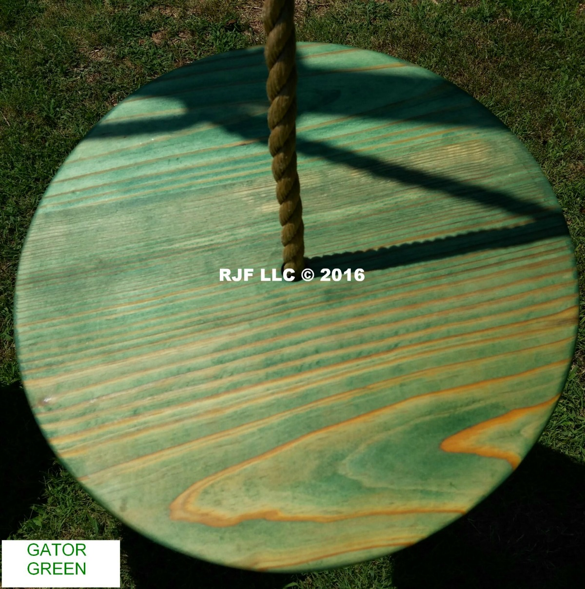 Gator Green Pine Disc Ghost Stain Series