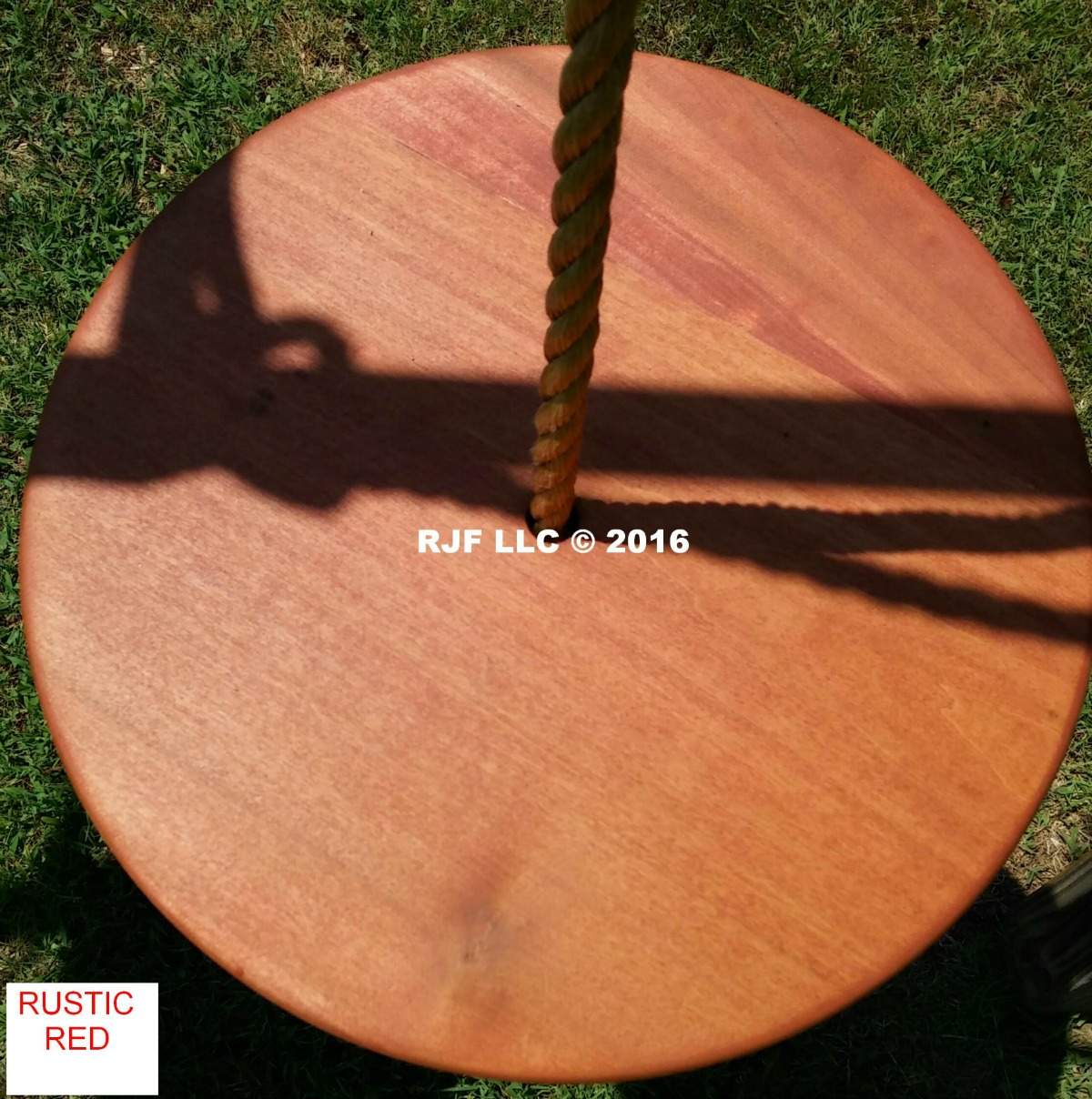 Rustic Red Poplar Disc Ghost Stain Series