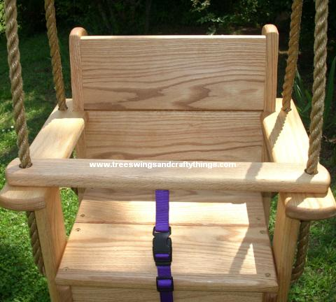 Red Oak Kids Seat Swing