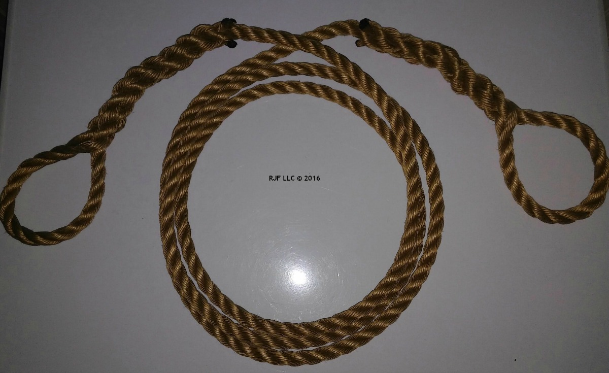Rope with Eyelets