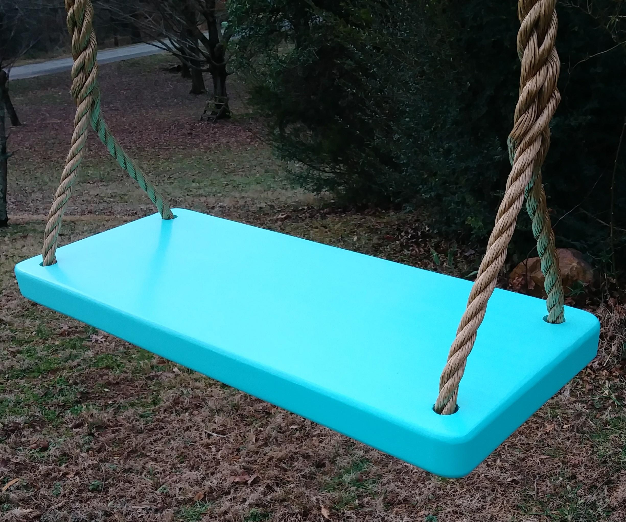 Sea Foam 4 Hole Appalachian Tree Swing