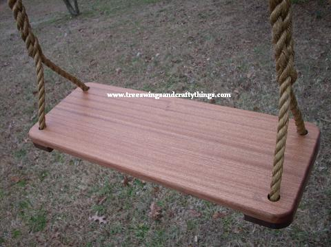 9 Inch Sapele Wood Tree Swing