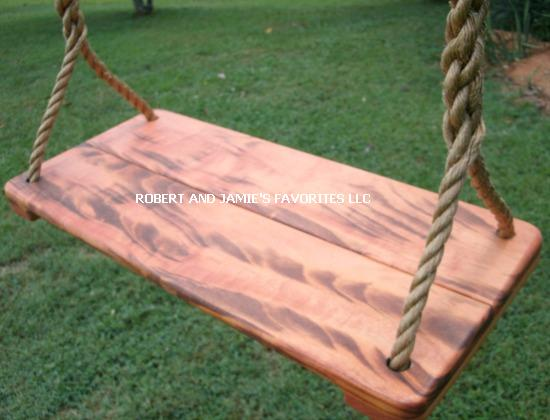 Tigerwood Tree Swing