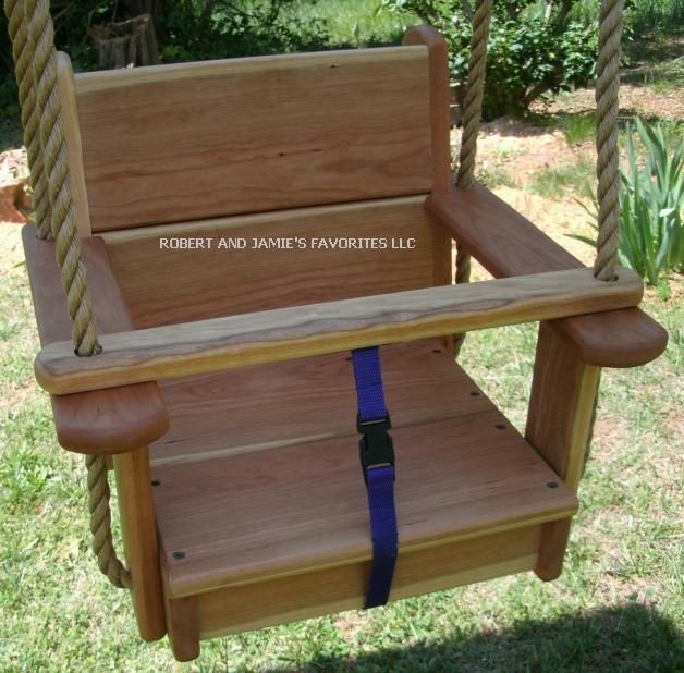 Premium Kids Cherry Seat Swing