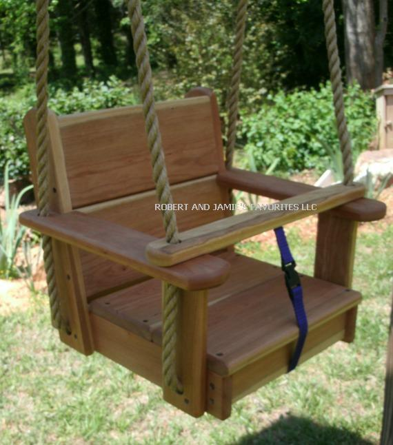 Cherry Kids Seat Swing
