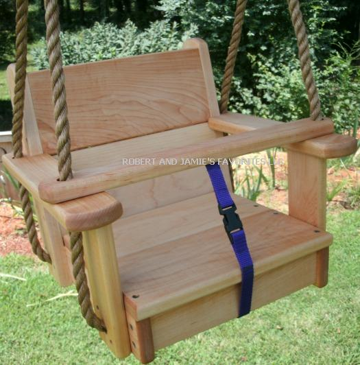 Maple Kids Seat Swing