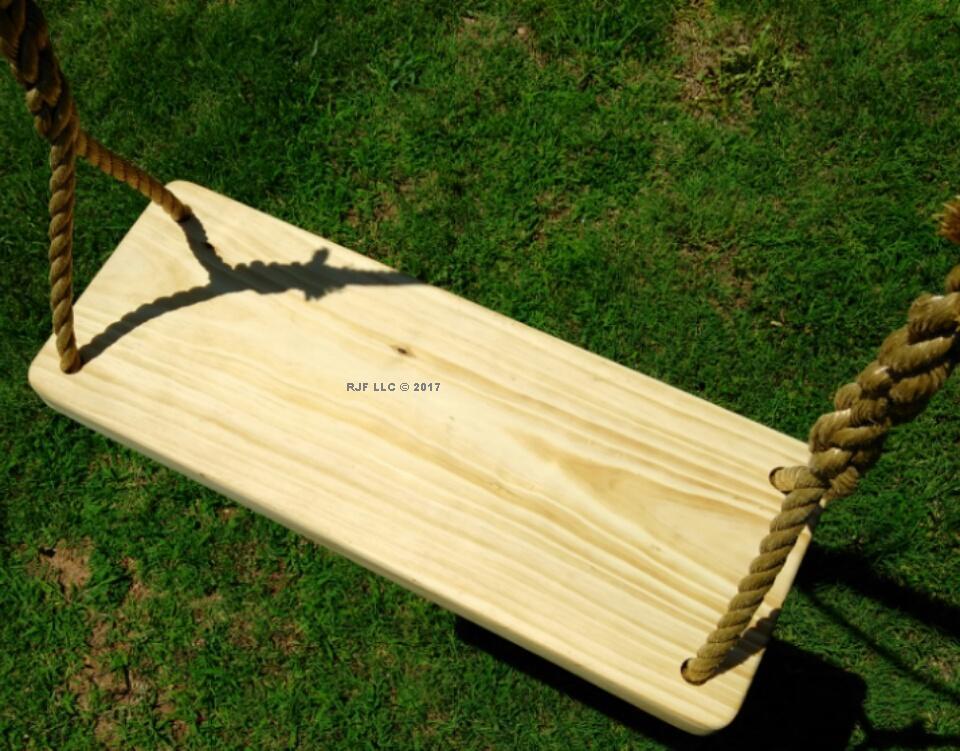 Appalachian 4 Hole Wood Tree Swing
