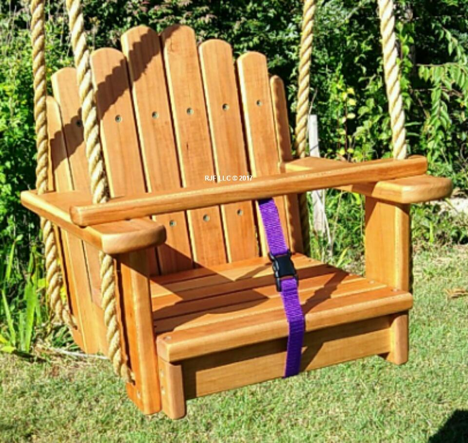 Cherry Sunburst Kids Seat Swing