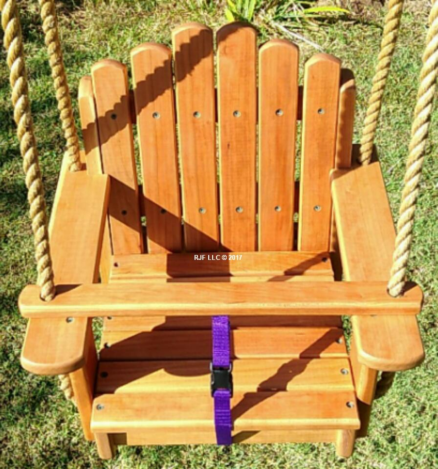 Sun Burst Cherry Kids Seat Swing