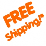 FREE Shipping to the lower 48 states of the USA!